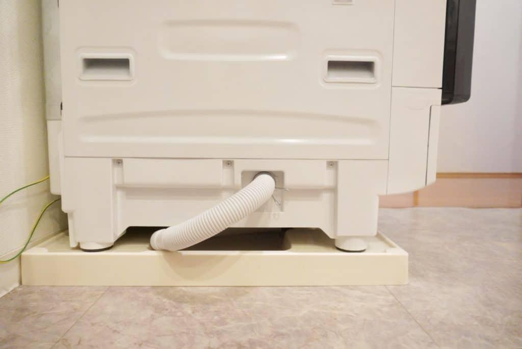 シャープ ドラム式洗濯機 ES-W112 奥行