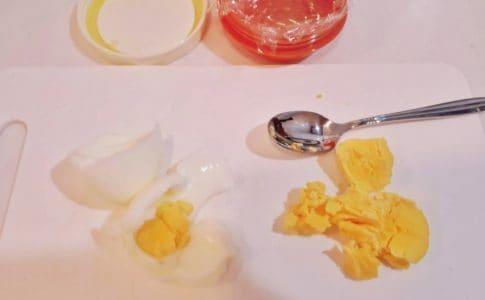 離乳食 ゆで卵 卵黄
