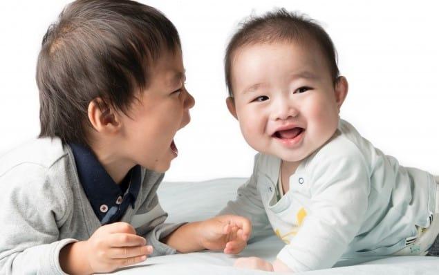 2歳差育児