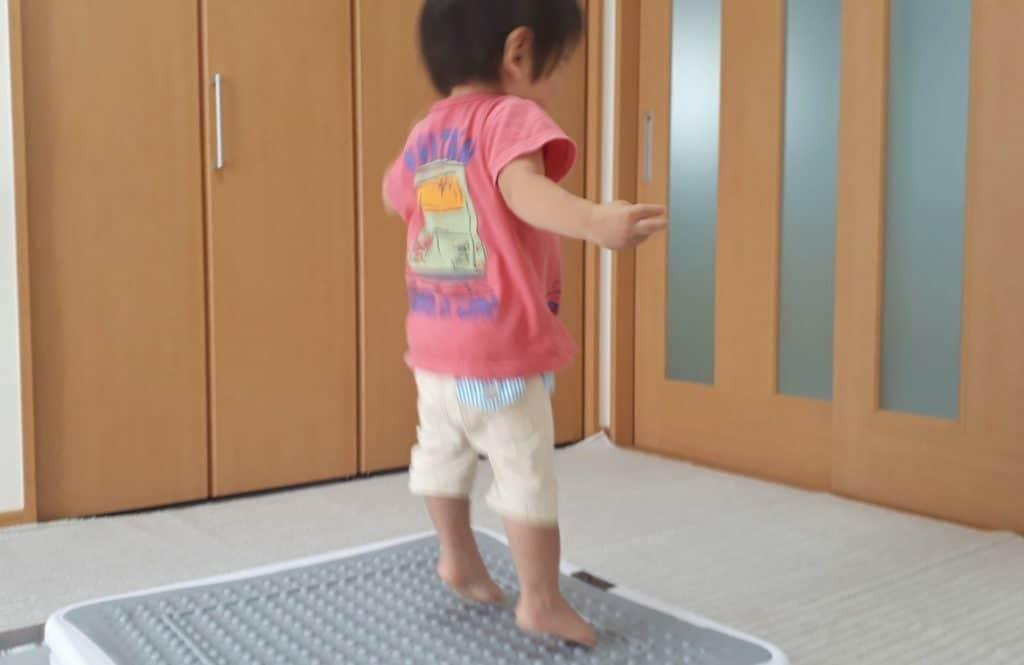 ジャンピングボード 1歳6ヶ月