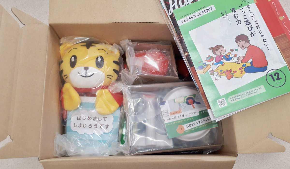 こどもちゃれんじぷち クリスマス限定BOX