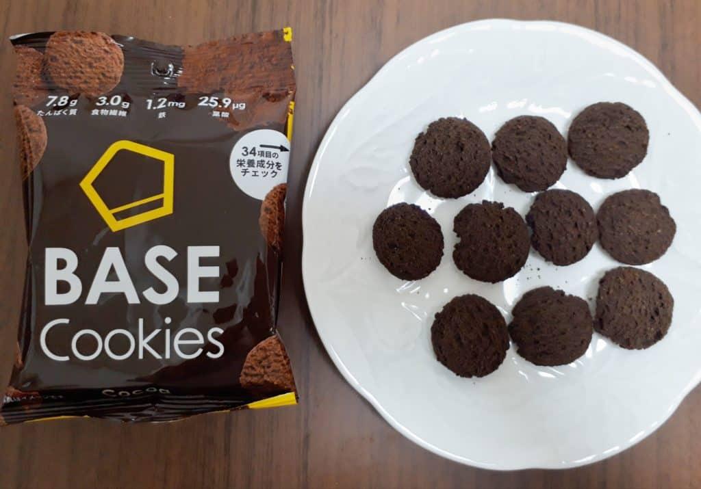 ベースクッキー ココア 口コミ