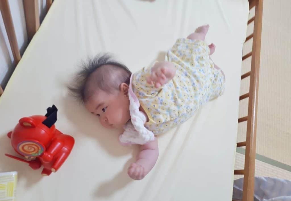 トイサブ 生後4ヶ月 五感を育てるメリー